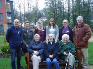 New Benches for Welshmill Allotments